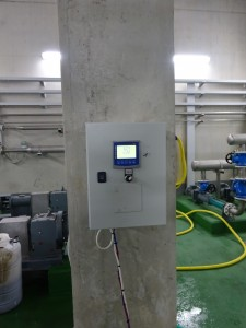 Partial anaerobic digestion start-up measurements  (pH and Temperature)